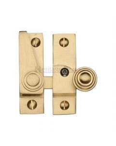Hook Plate Sash Fastener - Antique Brass