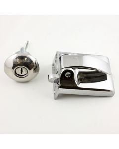 Ingersoll SC71 - High Security Dead Bolt Night Latch For Front Doors - Polished Chrome