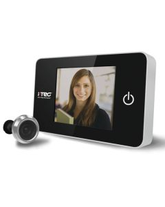 Slim Style Front Door Digital Electronic Door Viewer And Spy Hole - With Large LCD Screen
