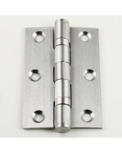 Ball Bearing Hinge - Satin Stainless Steel - 76mm x 50mm