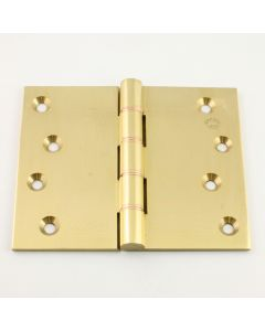 Broad Butt Projection Hinges - Polished Brass - Available in Four Sizes