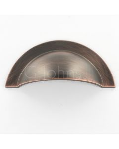 Monmouth Cup Handle - 104mm Overall Length - Oil Rubbed Dark Bronze - Each