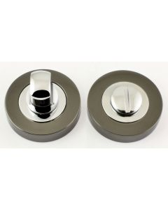 Turn & Release Set - Dual Finish - Black Nickel & Polished Chrome
