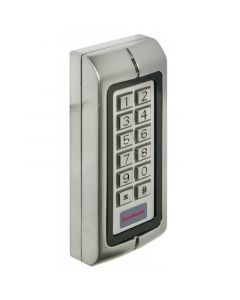 Keypad With Proximity FOB Reader - Satin Stainless Steel