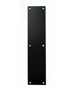 Finger Push Plate - Matt Black