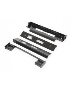 13mm Rebate Kit To Suit Architectural Sash & Bathroom Locks - Matt Black