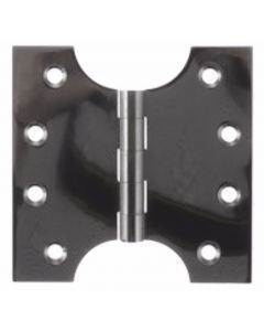 Parliament Projection Hinges 102mm x 102mm - 50mm Projection - Black Nickel