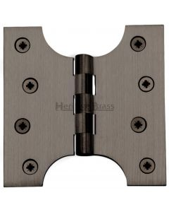 Parliament Projection Hinges - Matt Bronze - 102mm x 102mm - 50mm Projection