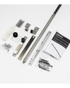 Double Door Self Close Mechanism For Adjustable & FD30 Rated Adjustable Sliding Pocket Door Kits