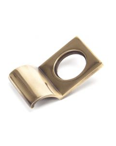 Period Rim Cylinder Pull - Polished Bronze