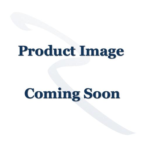 Plain Letter Plate - 331mm x 80mm - Satin Brass