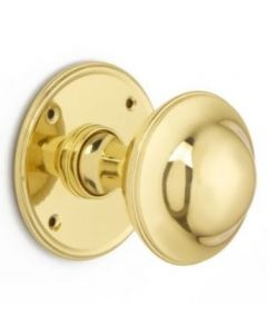 Plain Round Mortice Door Knob
