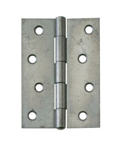 Pressed Steel Hinges - Self Colour - 50 x 38mm / 76 x 50mm / 102 x 71mm
