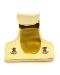 Sliding Sash Window Lift - Polished Brass
