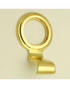 Architectural Cylinder Pull - Polished Brass