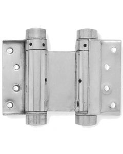 Double Action Hinge - Silver Grey - Four Sizes