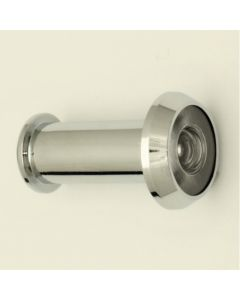 180 Degree Wide Angle Door Viewer - Polished Chrome