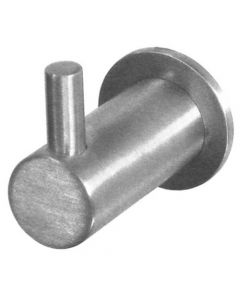 Robe Hook - Satin Stainless Steel
