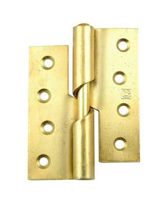 Rising Butt Hinges - Electro Plated Brass - 76mm x 70mm / 100mm x 84mm