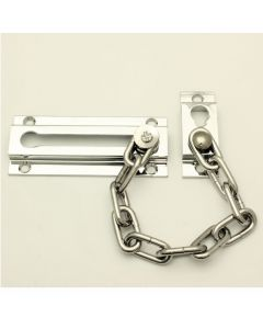 Front Door Security Chain - Polished Chrome