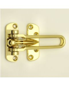 Front Door Guard (Hotel Room Guard) - Polished Brass