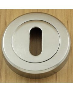 Standard Profile Escutcheon - Satin Chrome