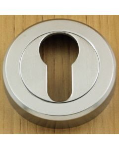 Euro Profile Escutcheon - Satin Chrome