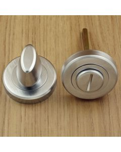 Turn & Release Set - Satin Chrome