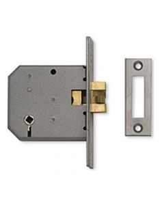 Sliding Door - Bathroom Claw Lock - Satin Chrome