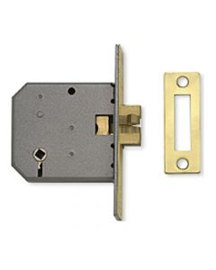 Sliding Door - Bathroom Claw Lock - Polished Brass