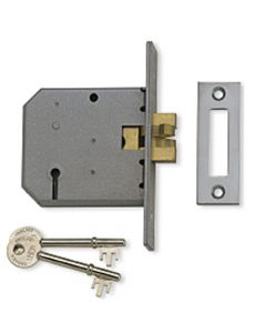 Sliding Door - Claw Sash Lock - Satin Chrome