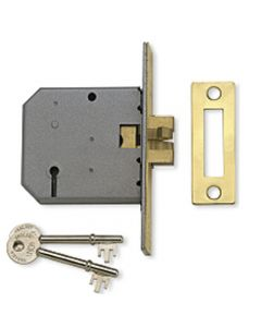 Sliding Door - Claw Sash Lock - Polished Brass