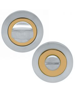 Turn & Release Set - Dual Finish PVD Brass & Stainless Steel