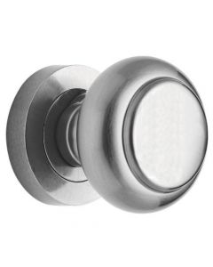 Mortice Door Knobs - Satin Chrome