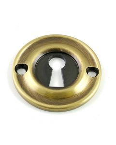 Architectural Quality Escutcheon - Florentine Bronze