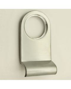 Front Door Cylinder Pull - Satin Chrome
