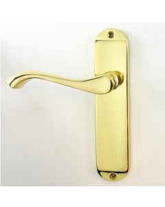 Andros Lever Suite - Polished Brass