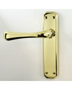 Eden Lever Suite - Polished Brass