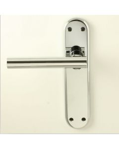System Door Handle Suite - Polished Chrome