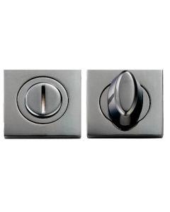 Turn & Release Set - Square Rose - Black Nickel
