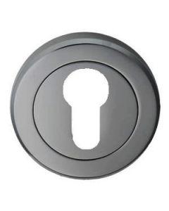 Euro Profile Escutcheon - Black Nickel