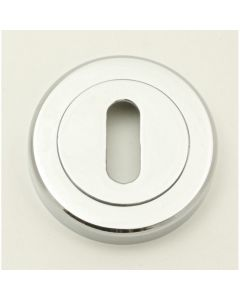 Standard Profile Escutcheons - Polished Chrome