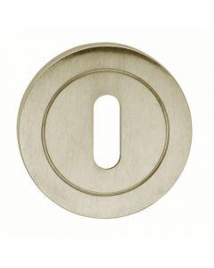 Standard Profile Escutcheons - Satin Nickel