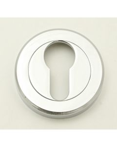 Euro Profile Escutcheons - Polished Chrome
