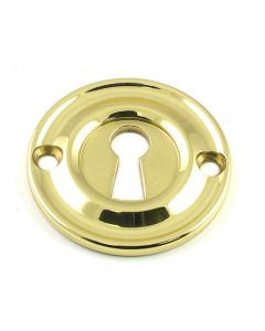 Standard Profile Escutcheon - Polished Brass