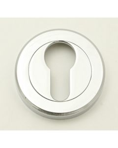 Euro Profile Escutcheon - Polished Chrome