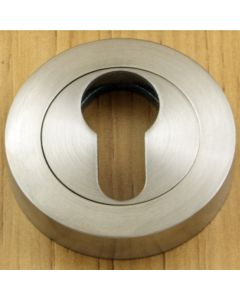 Euro Profile Escutcheon - Satin Stainless Steel