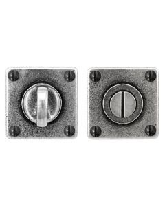 Turn & Release Set - Square Shape - Pewter
