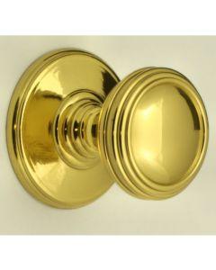 Ringed Cupboard Knobs - Florentine Bronze Finish