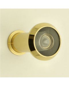 180 Degree Wide Angle Door Viewer - Polished Brass